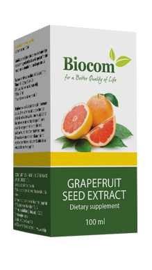 Biocom Grapefruit Seed Extract 100 ml