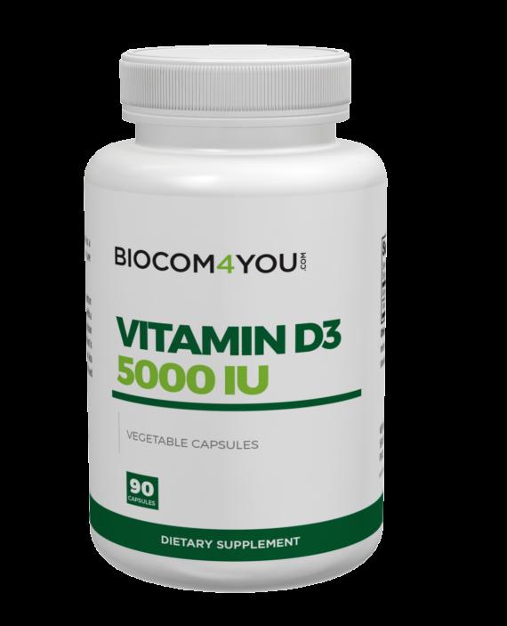 Biocom Vitamin D3 5000 IU
