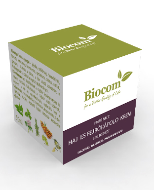 Biocom Haj És Fejbőrápoló Krém