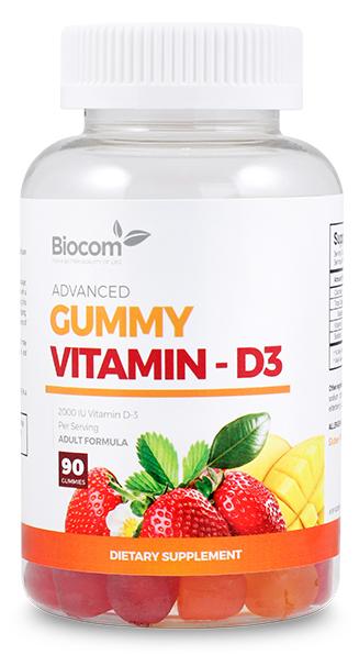 Biocom Gummy Vitamin-D3