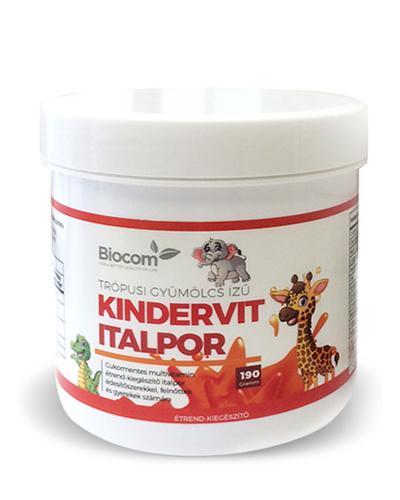 Biocom Kindervit Italpor Trópusi