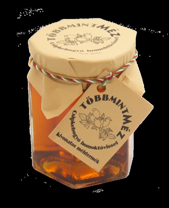 Csipkebogyó Homoktövissel Méz 250 g