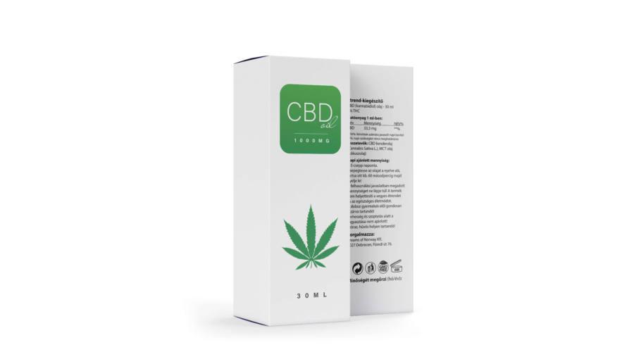CBD Olaj Norvég 1000 mg - 30 ml